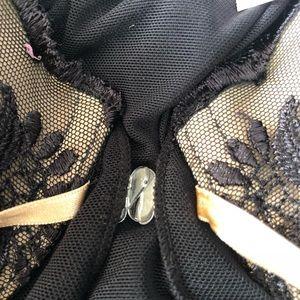 Inner Secrets Intimates & Sleepwear - Inner Secrets Black Teddy Sz XL